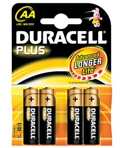 Duracell Plus AA and AA