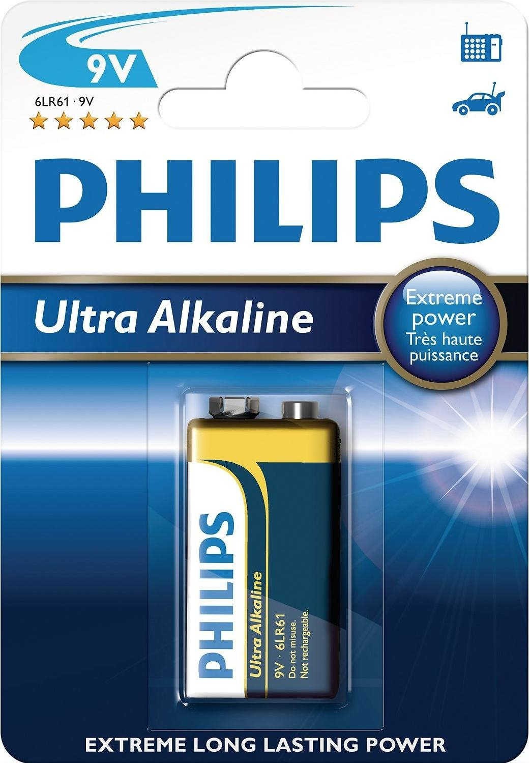 ultra alkaline philips
