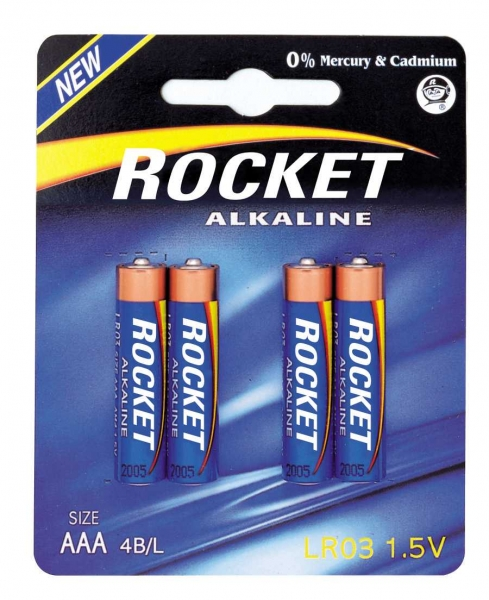 Rocket Blue Alkaline 4106